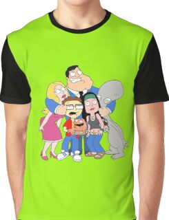 american dad Graphic T-Shirt