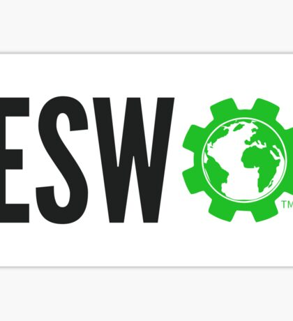 ESW Logo Compact Horizontal Sticker