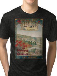 Gustave Fraipont Affiche Ouest Invalides Versailles Tri-blend T-Shirt
