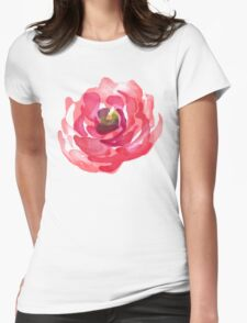 Watercolor Pink Peony T-Shirt