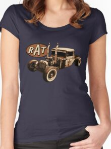 RAT - Semi style pipes Women's Fitted Scoop T-Shirt