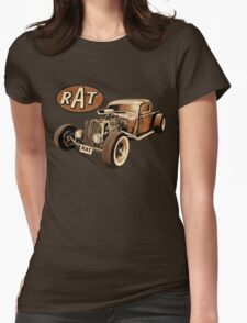 RAT - Classic Rat Womens Fitted T-Shirt