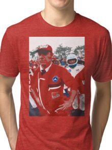"Unique and rare 1980 Race Trucks France 19 (c) (h) "" fawn paint Picasso ! Olao-Olavia by Okaio Créations Tri-blend T-Shirt"