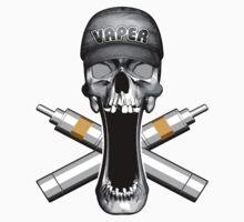 Vaper Skull by dxf1969
