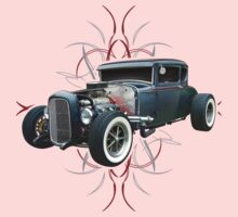 Pinstripe Hot Rod Kids Clothes