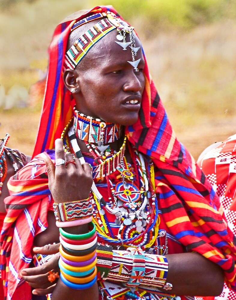 Maasai to the Max by Linda Sparks