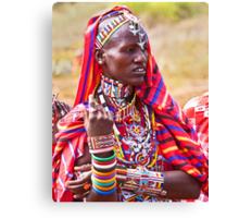 Maasai to the Max Canvas Print