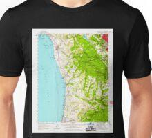 USGS TOPO Map California CA Half Moon Bay 297626 1961 62500 geo Unisex T-Shirt