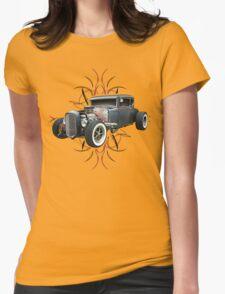 Pinstripe Hot Rod light Womens T-Shirt
