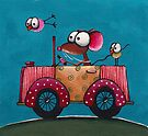 The Vintage Car by StressieCat