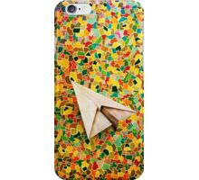 Paper Airplane 73 iPhone Case/Skin