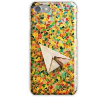 Paper Airplane 73 iPhone Case/Skin