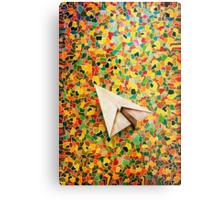 Paper Airplane 73 Metal Print