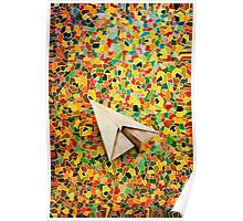 Paper Airplane 73 Poster