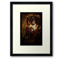 Tyrion Lannister Framed Print