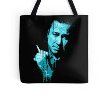 Bill Hicks (blue) Tote Bag