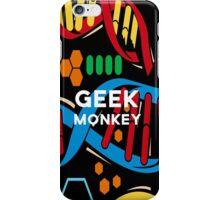 geek monkey  iPhone Case/Skin