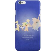 Aristocats inspired design (Alley Cats). iPhone Case/Skin