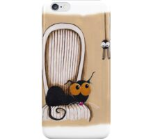 Oh no... Not you again iPhone Case/Skin