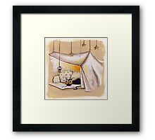 Relax therapy Framed Print