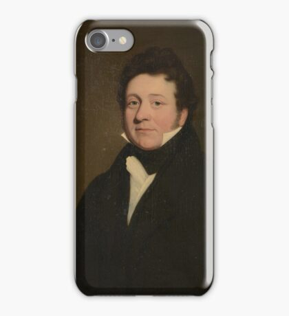 Circle of William Dyce () Portrait of George Wilson  iPhone Case/Skin