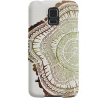 Tree Rings – Watercolor Samsung Galaxy Case/Skin