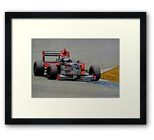 Formula Atlantic Race Car Framed Print