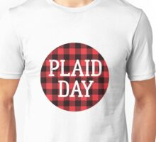 Plaid is the New Black Unisex T-Shirt