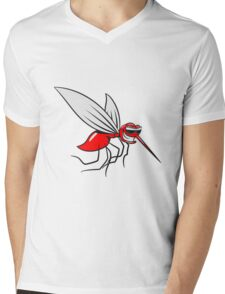 Mücke witzig stechen comic sonnenbrille  Mens V-Neck T-Shirt