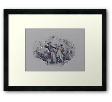 Epic Battle Framed Print