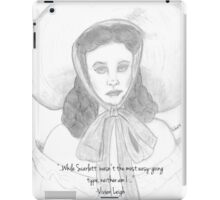 Vivien Leigh as Scarlett, iPad Case/Skin