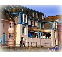 Promenade in Lyme Regis Photographic Print
