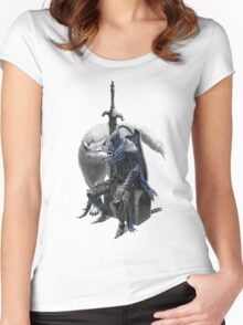 Artorias and sif. Women's Fitted Scoop T-Shirt