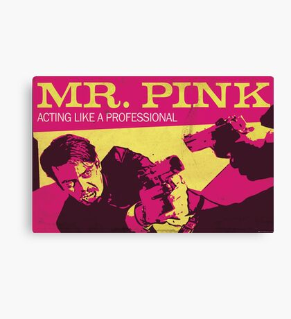 Reservoir Dogs, Mr Pink the Professional Canvas Print