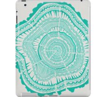 Turquoise Tree Rings iPad Case/Skin