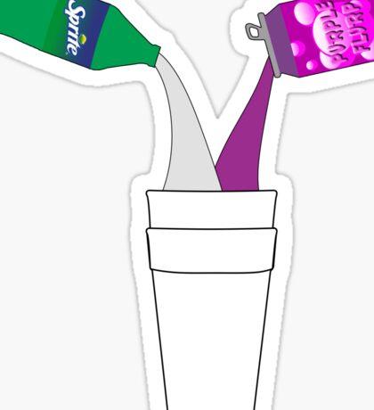 Purple Flurp X Skrite Sticker