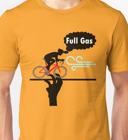 Cycling T Shirt - FULL GAS Unisex T-Shirt