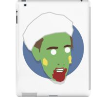 'Alan Partridge' Halloween Zombie iPad Case/Skin