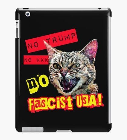 Pussies Against Trump No Fascist USA iPad Case/Skin
