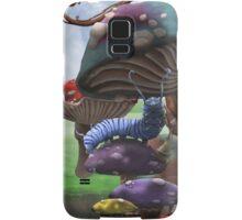 Caterpillar in the Wonderland Toadstool Forest Samsung Galaxy Case/Skin