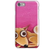 Amber in pink iPhone Case/Skin