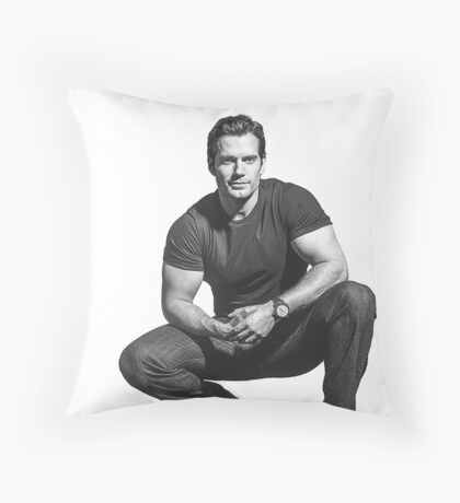 Henry Cavill Throw Pillow
