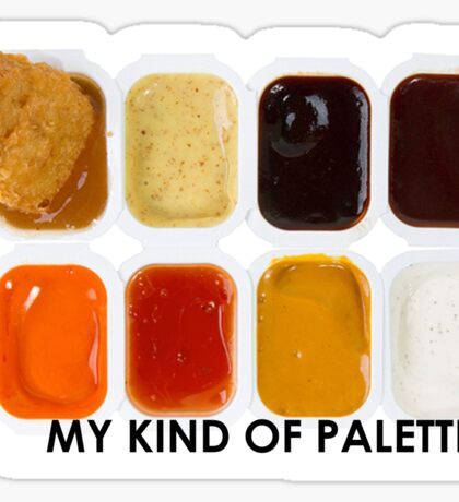 Chicken Nugget Palette Sticker