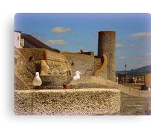 Historic Lyme Regis Canvas Print