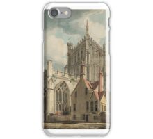 Joseph Mallord William Turner    Bristol Cathedral from College Green iPhone Case/Skin