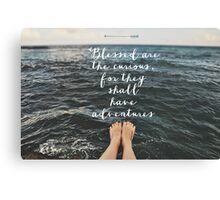 Blessed are the Curious Canvas Print
