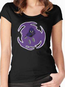 Teen Titans - Raven breaks through Women's Fitted Scoop T-Shirt