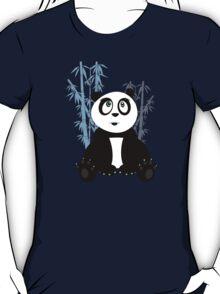 Panda Girl - Blue T-Shirt