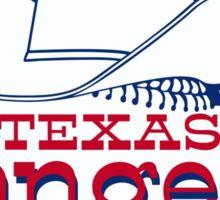 Texas Rangers Baseball Sticker