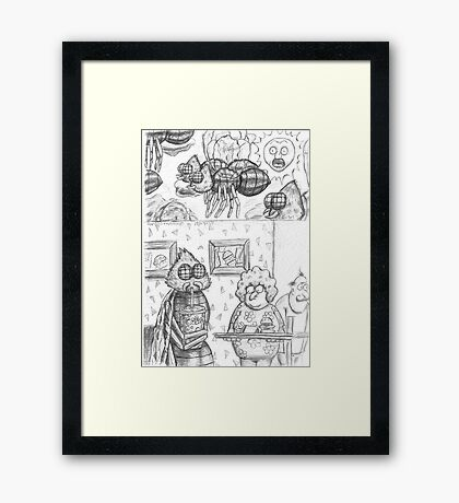 chapter 4: page 2 Framed Print